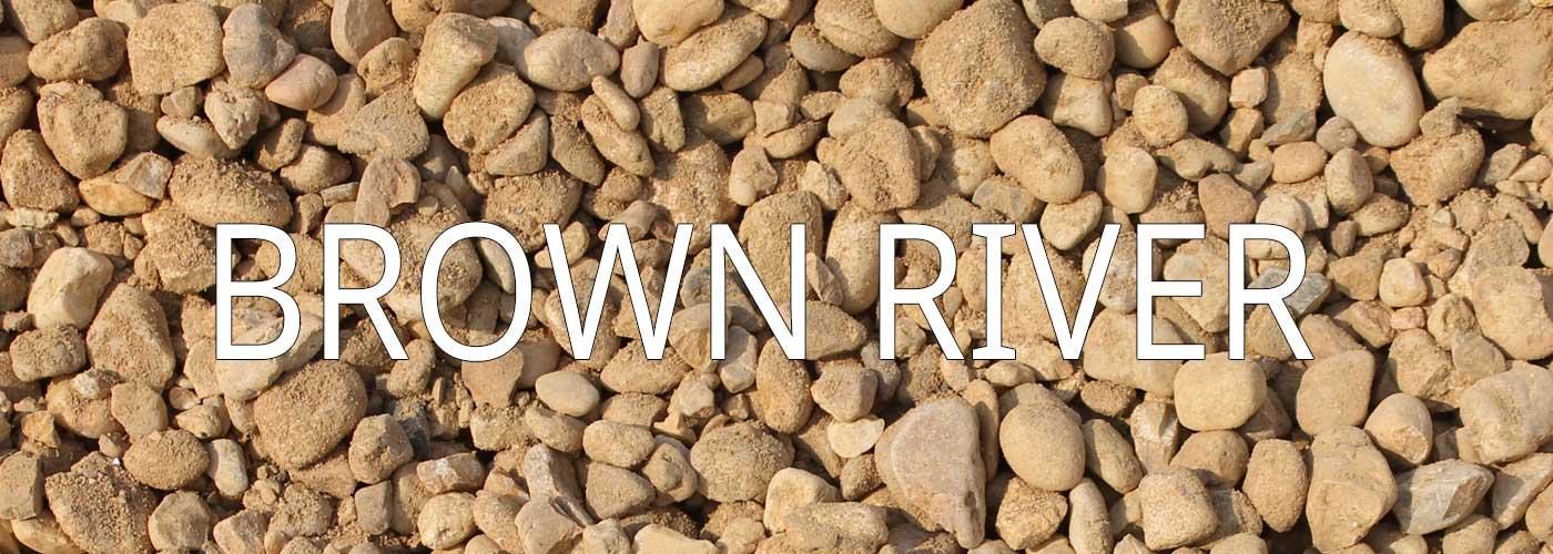 Brown River Rock